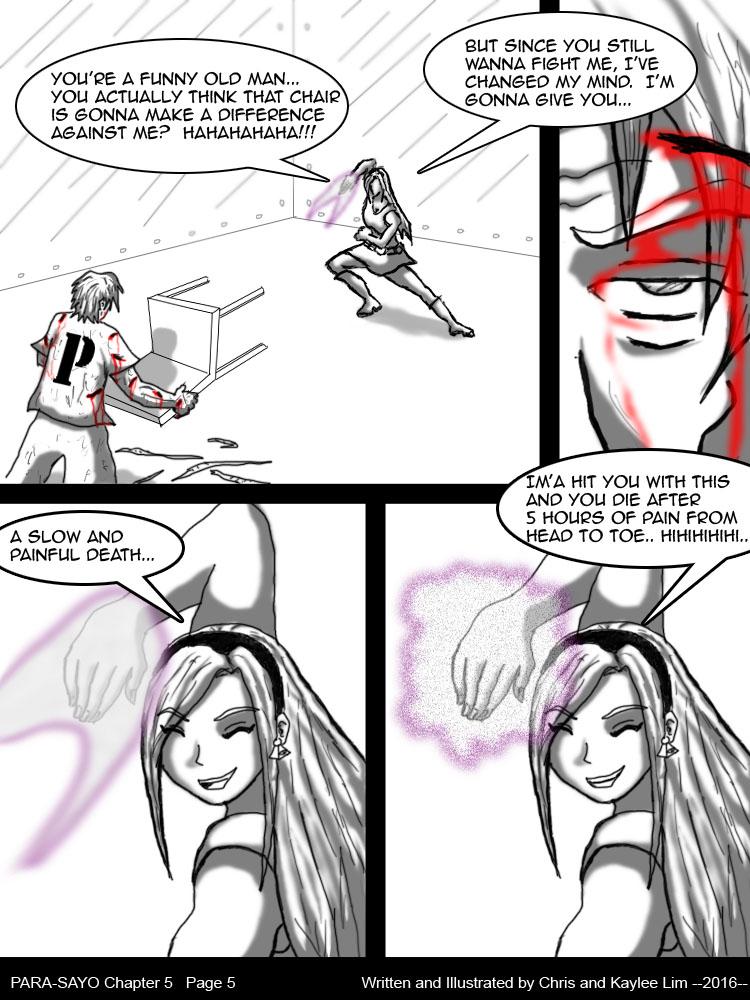 PARA-SAYO Chapter 5  Page 5