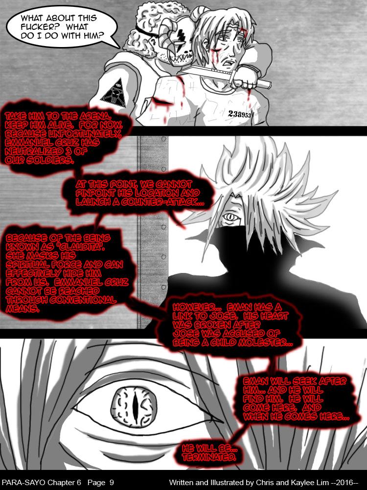 PARA-SAYO Chapter 6  Page 9