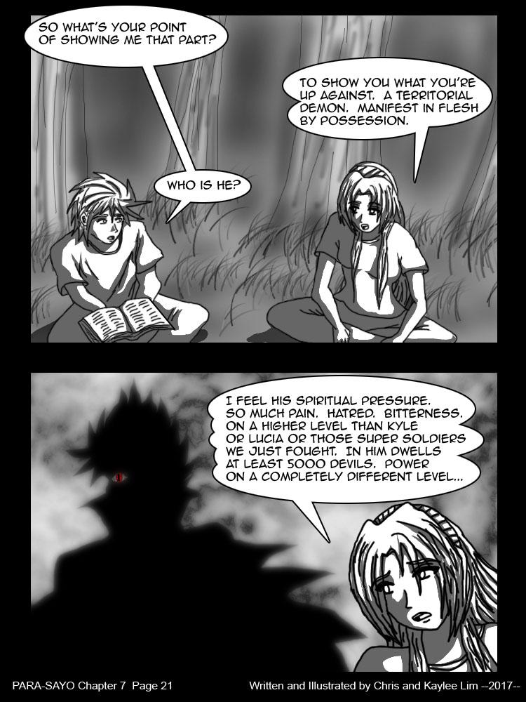 PARA-SAYO Chapter 7  Page 21