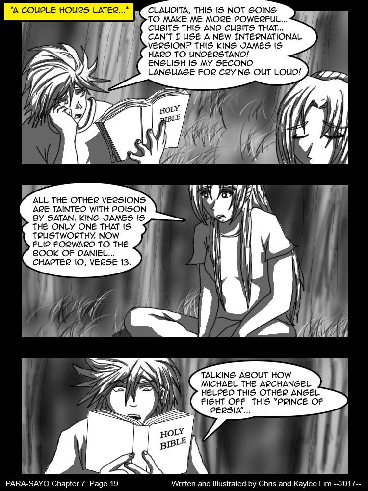 PARA-SAYO Chapter 7  Page 19