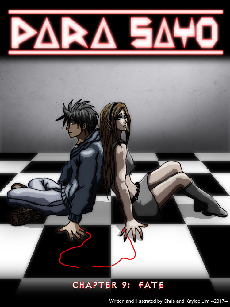 PARA-SAYO CHAPTER 9 COVER