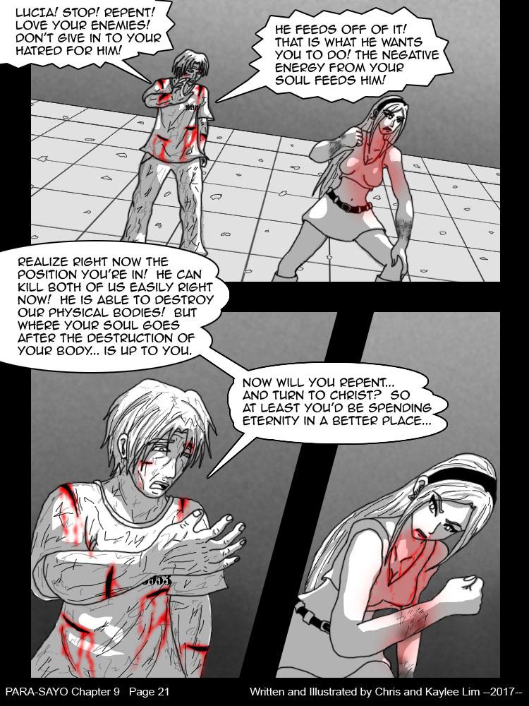PARA-SAYO Chapter 9 Page 21