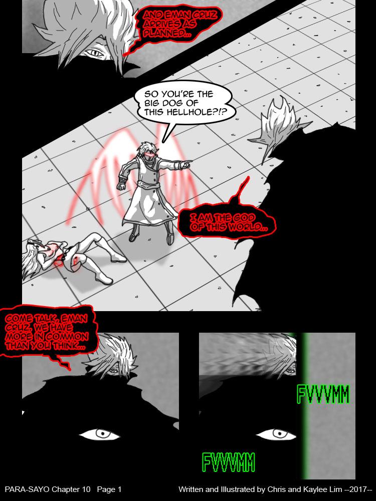 PARA-SAYO Chapter 10  Page 1